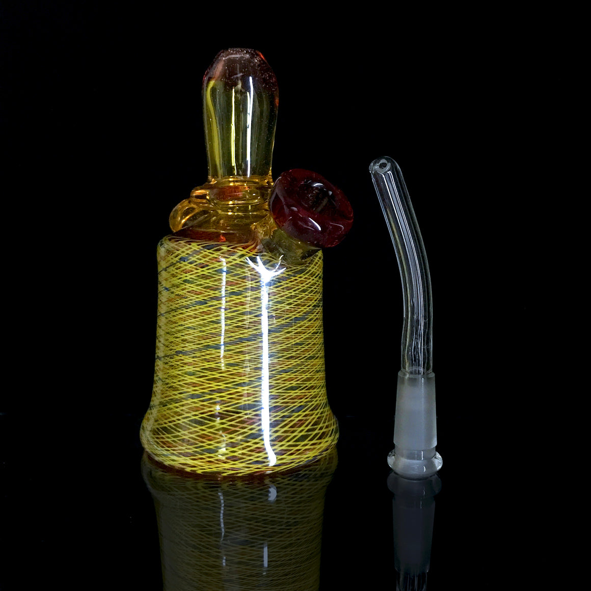 Fully-worked Mini Tube - Terps/Fire Retti - 10mm Female