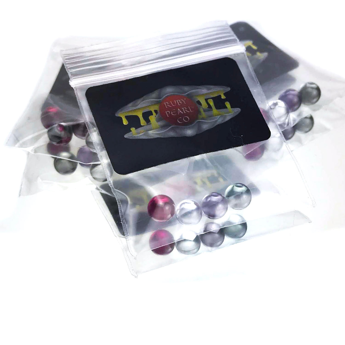 Ruby/Purple/Teal/Clear Terp Pearl Bundle