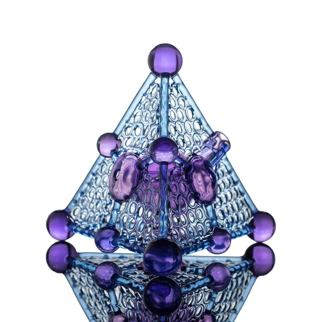 """Tetrahedral Biological"" - Purple Rain/Potion/Blue Dream- 10mm Female"