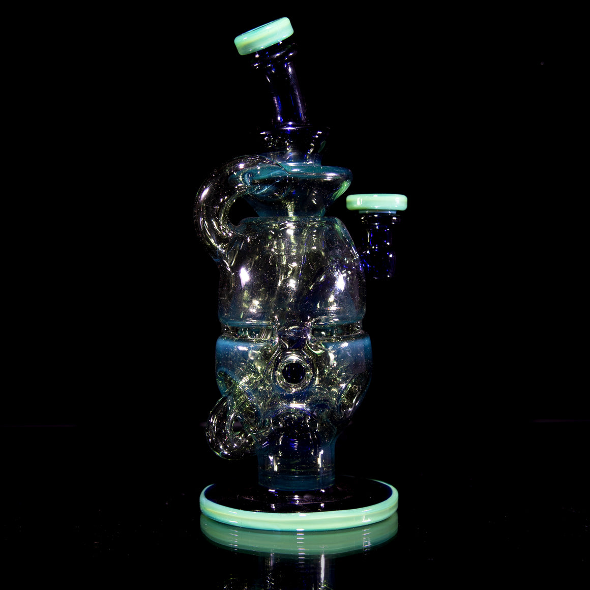 "Single-Uptake ""Klegg"" Faberge Egg Klein Recycler  - 10mm Female"