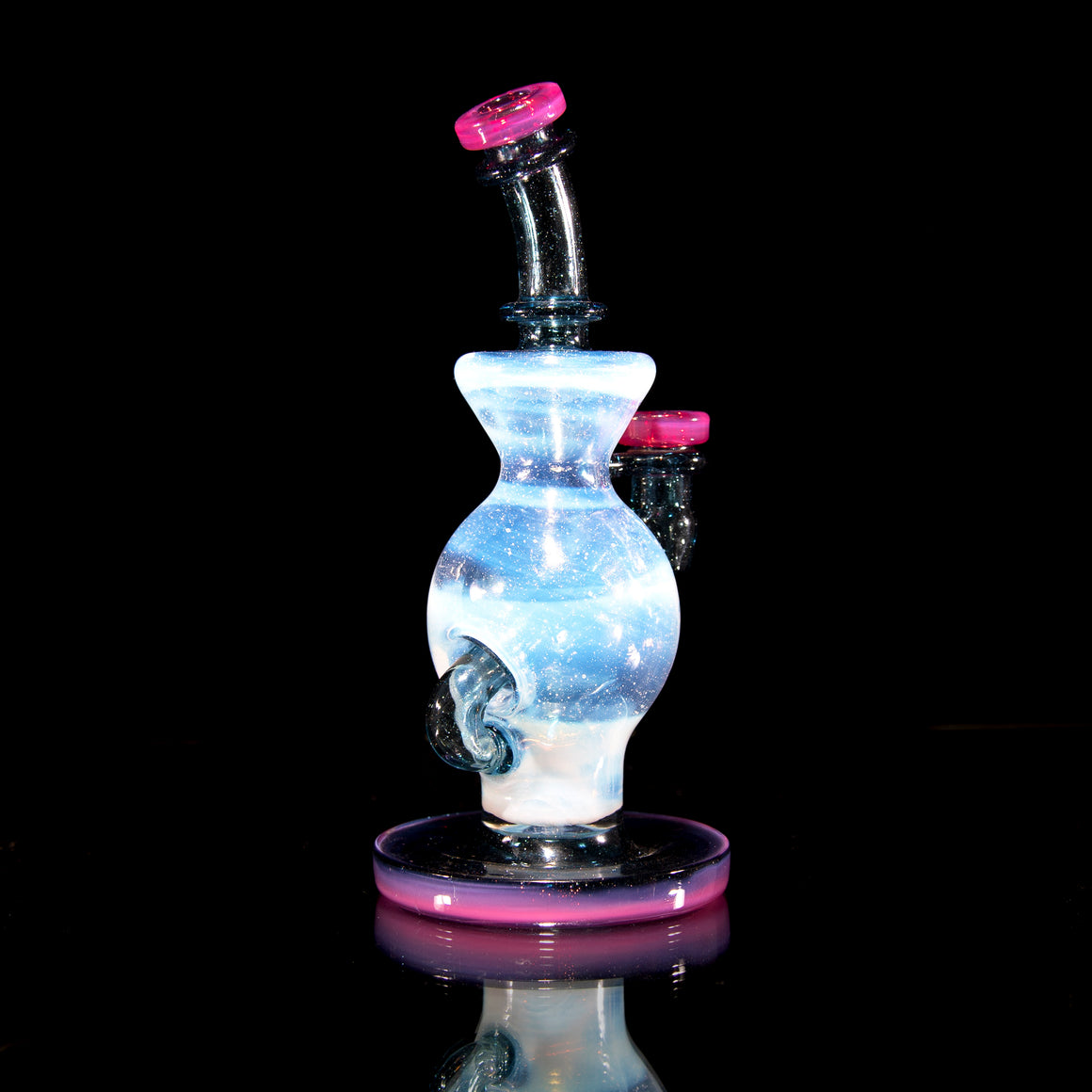 Ball Rig - Secret White/Telemagenta/Blue Stardust  - 10mm Female