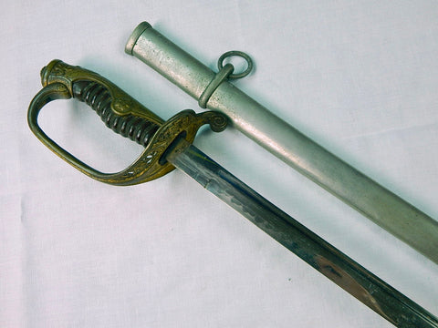 Japanese Japan WW2 Katana Officer's Dress Sword w/ Scabbard
