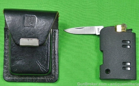 AL MAR PRE PRODUCTION FOLDING KNIFE & LIGHTER