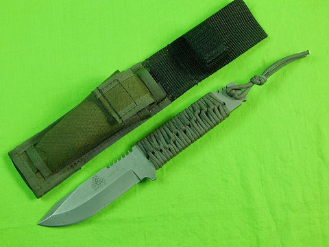 RARE US Custom Made Alex Shunnarah PROTO #001 A.R.S. Attack-Rescue-Survive Knife