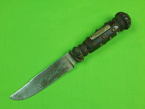 Antique German Blade British English Scottish Customized Handle Fighting Knife