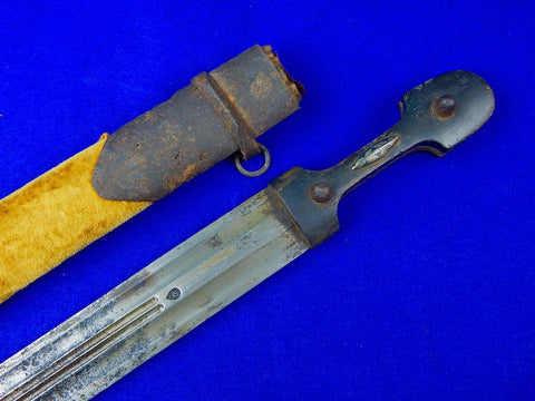 Antique Imperial Russian Russia Caucasian 19 Century Pre WW1 Kindjal Knife Sword