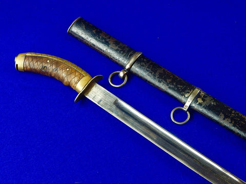 Antique Japanese Japan WWI WW1 or Earlier Cavalry Katana Sword with Scabbard