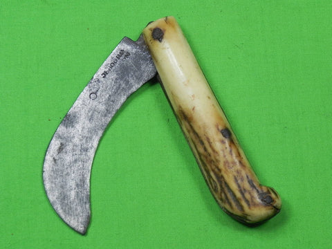 Antique Old French France Navaja Folding Pocket Knife