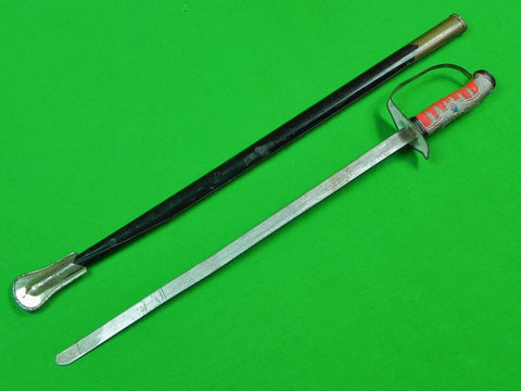 Antique Old Japanese Japan Child's Toy Sword & Scabbard