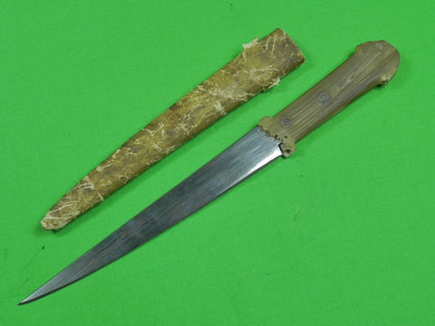 Antique Old North African Africa Custom Hand Made Fighting Hunting Knife Dagger