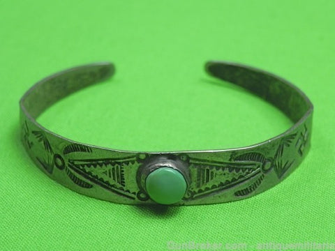 Antique Sterling Silver Small Bracelet