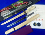 Antique Very Old Japan Japanese Signed Blade Tanto Knife Wakizashi Sword Papers