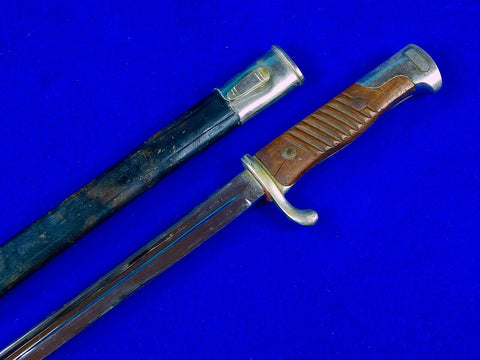 Antique Old German Germany WW1 Model 1898 Dress Bayonet Short Sword Swords Knife Knives w/ Scabbard