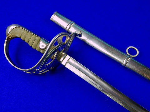 Austrian Austria WW1 Officer's Sword with Scabbard