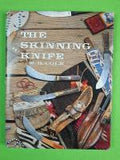 Vintage M.H. COLE Skinner Skinning Hunting Knife & Sheath Signed Book Letter