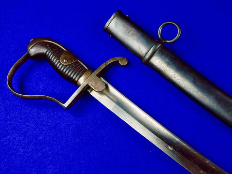 German Germany WW1 1916 Dated Cavalry Sword with Scabbard