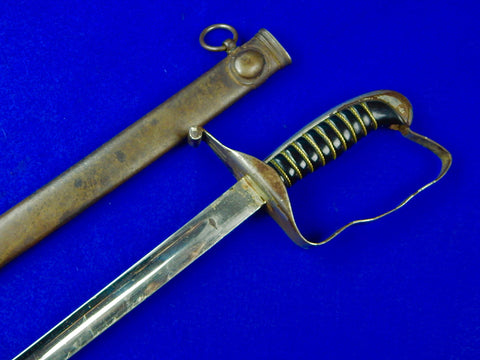 German Germany Austria Austrian WW1 Officer's Sword w/ Scabbard