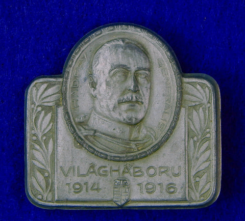 German Germany Austrian Austria WWI WW1 VILAGHABORU General Pin Badge