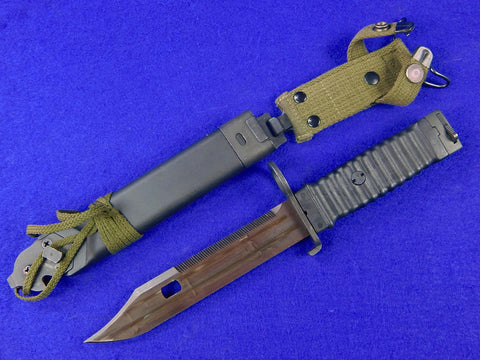 German Germany Bayonet Fighting Knife with Scabbard