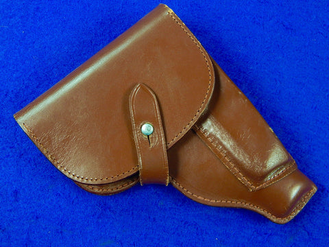 Vintage East German Germany Makarov Pistol Leather Holster ..