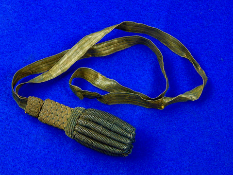 German Germany WW1 Sword Dagger Portepee Knot