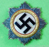 German Germany WW2 Gold Grade Cross Order Medal