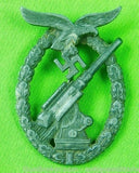 German Germany WW2 Luftwaffe Flak Badge Medal Pin