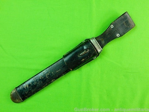 German Germany WW2 Red Cross Dagger Scabbard Frog