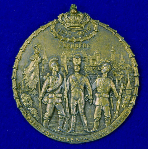 German Germany Antique WW1 Commemorative Table Medal