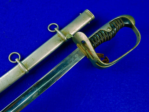 Antique Old Germany German WW1 Officer's Sword with Scabbard