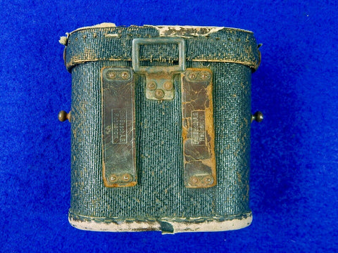 German Germany WW2 Emil Busch A.G. Rathenow Leather Binoculars Case