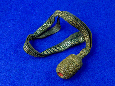 German Germany WW1 Sword Dagger Portepee Knot _