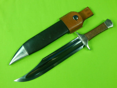 Custom Handmade Hanwei Paul Chen Outrider Dalian China Large Bowie Knife