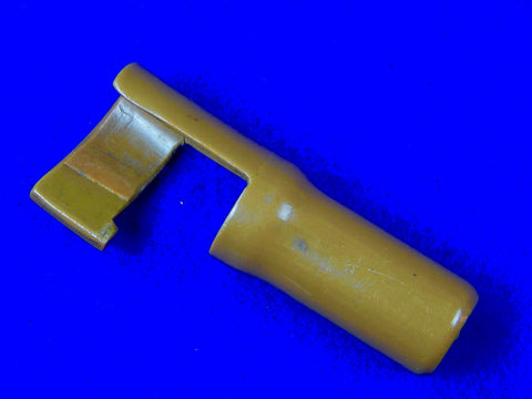 Japanese Japan WWII WW2 Arisaka Rifle Carbine Plastic Muzzle Cover Kanji Marked