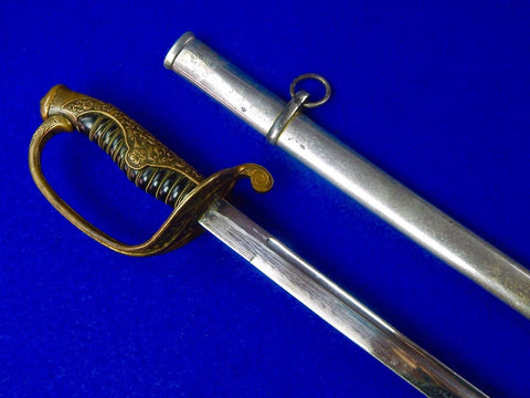 Japanese Japan WWII WW2 High Rank Officer's Dress Sword w/ Scabbard