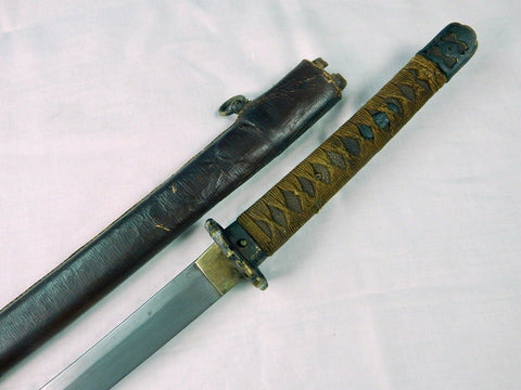 Japanese Japan Late War WW2 Chinese China Mukden Arsenal Made Katana Sword