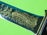 John EK Limited Edition US Airborne Force Commemorative Engraved Fighting Knife