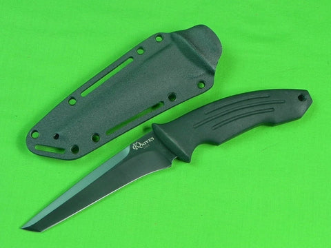RARE Custom Hand Made KEN ONION Tactical Tanto Fighting Knife & Sheath
