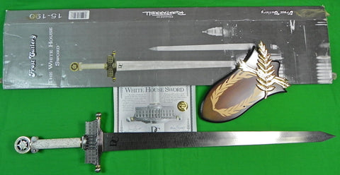 Limited 1 Production Run FROST Cutlery Russ Farrell Huge WHITE HOUSE Sword