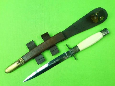 Vintage J. NOWILL Sheffield English British Fairbairn Sykes Fighting Knife