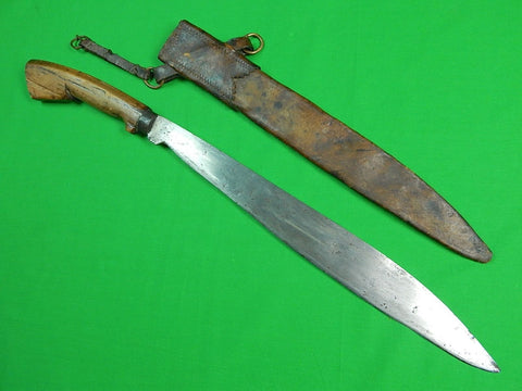 Antique Old North Borneo Philippine Philippines BARONG Fighting Knife Sword