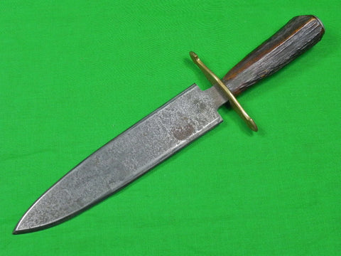 Old US Custom Hand Made Fighting Hunting Knife