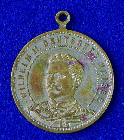 Antique German Germany pre WW1 1888 Kaiser Jeton Order Medal Badge M