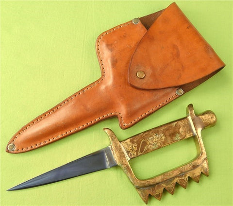 Pre 1965 Custom Made JN Cooper Triple Treat Knife