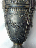 RARE Antique Circa 1900 French France Sterling Silver Vase Emile Langlois Paris
