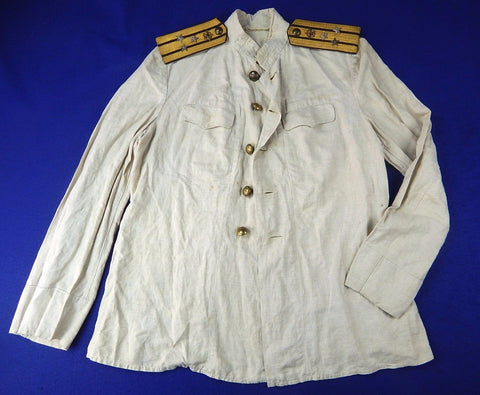 RARE Soviet Russian WW2 Navy Naval Aviation Colonel Captain 1 Rank Tunic Shirt