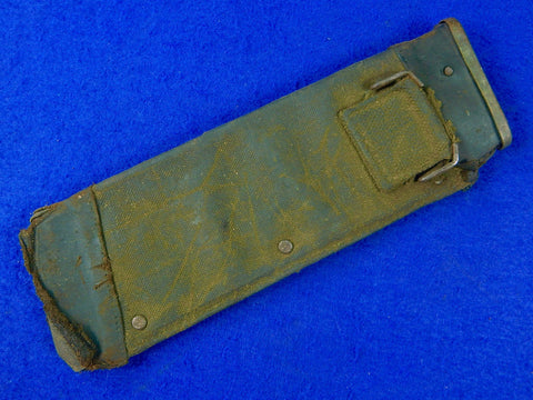 RARE US WW2 WWII Scabbard Sheath Case Holster for Square Tip Bolo Fighting Knife