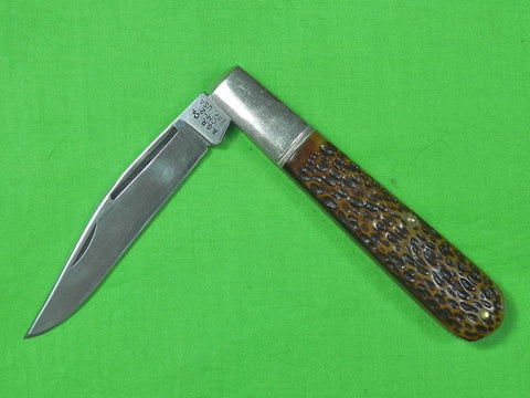 Vintage US A.G. RUSSELL Made by CAMILLUS Huge Folding Pocket Knife