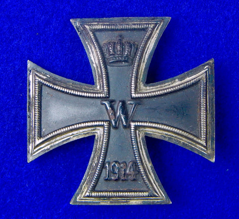 Rare German Germany WW1 WWI Iron Cross 1 Class Medal Order Badge