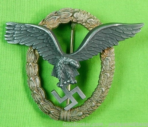 Replica Germany German WW2 Pilot Badge Pin Medal